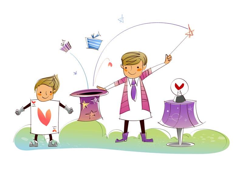 关于节日的儿童画内容图片展示